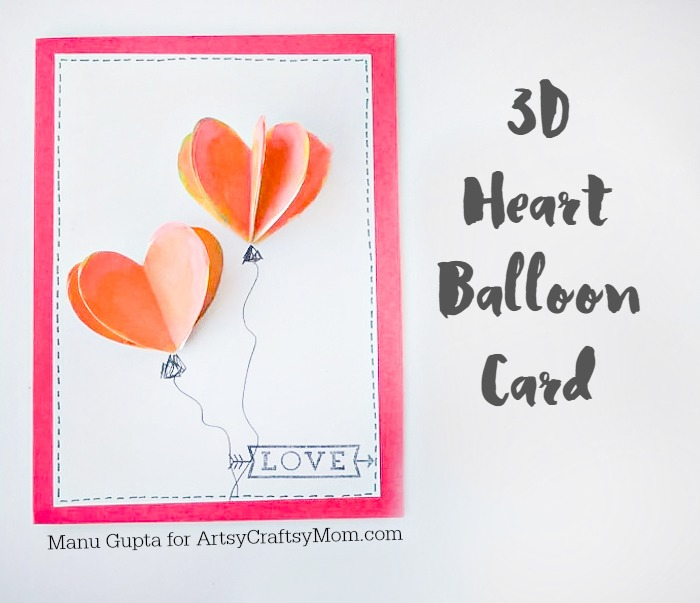 Valentine heart card-3
