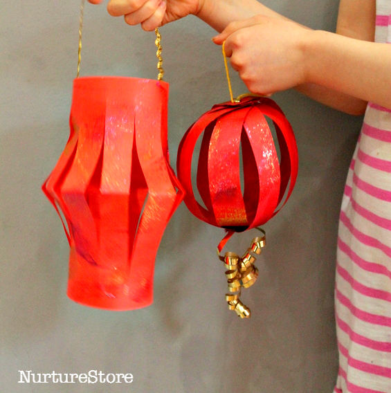 how to make paper lanterns old fashioned fun book 5