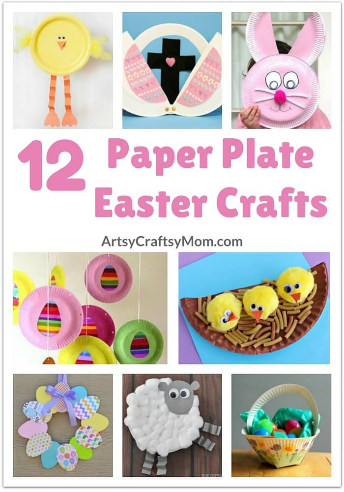 Get Your Kids In The Spirit Of Easter And Spring With These Simple Adorable Paper