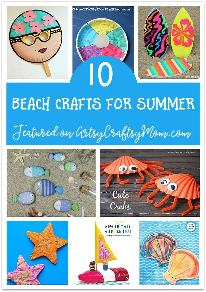 ultimate list of 100 summer activities for kids, including crafts, printables and more! Have a Summer Camp at home!