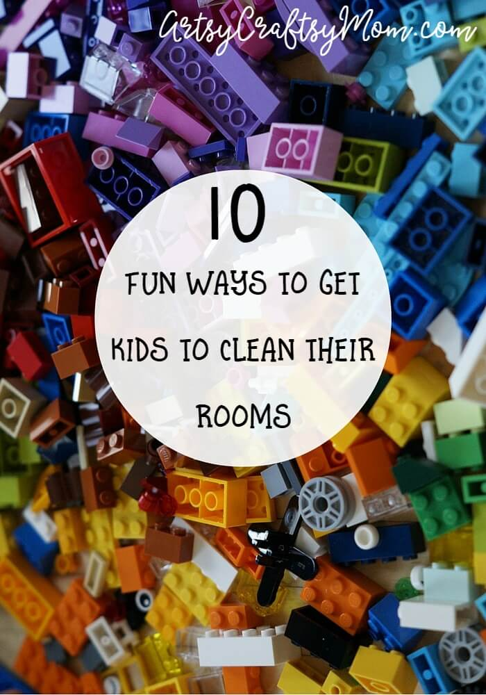 Getting kids to clean their rooms can be a hassle, but it doesn't have to! Here are 10 fun ways to get kids to clean their rooms in a jiffy!