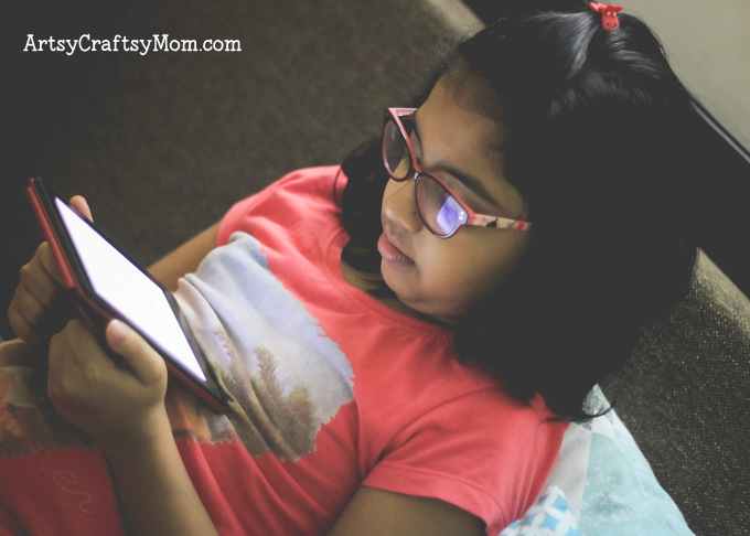 Raising Readers with Kindle #StartAStory- If you have a little bookworm at home, the All-New Kindle E-reader is the perfect gift to encourage them to read more