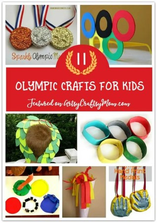 Simple and Fun Olympic Crafts for Kids