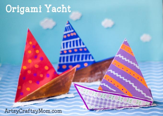 Easy Origami Yacht-main