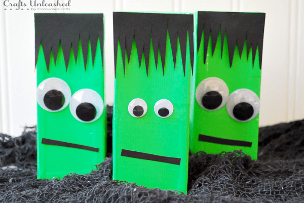 August 30 is Frankenstein Day, the birthday of Mary Shelley. Have fun by re-reading this horror classic and by making some fun Frankenstein Crafts!
