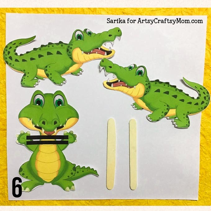 Perfect Hungry Alligator Free Printable Learning Worksheets Paging ...