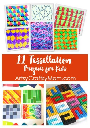 11 Fun Tessellation Projects for Kids to Play and Learn