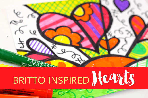 These Amazingly Colorful Romero Britto Art Projects For Kids Are Sure To Brighten Up Your Day