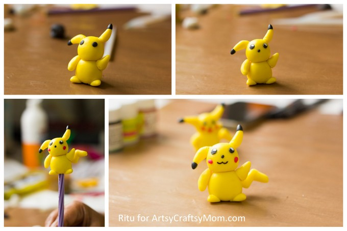 Make homework lots more fun with a cute little friend by your side, in the form of this DIY Clay Pikachu Pencil Topper! Perfect to keep or to give as gifts!