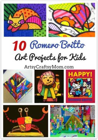 Top 10 Romero Britto Art Projects for Kids