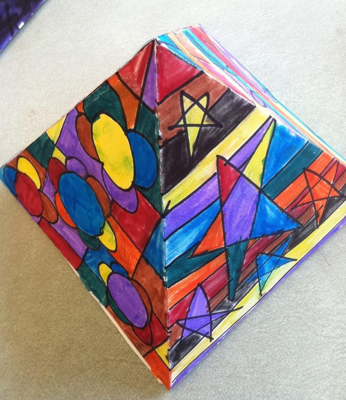 10 Amazingly Colorful Romero Britto Art Projects For Kids