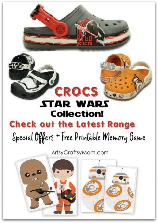 Out-of-this-Galaxy Comfort with the Crocs Disney Star Wars Collection!