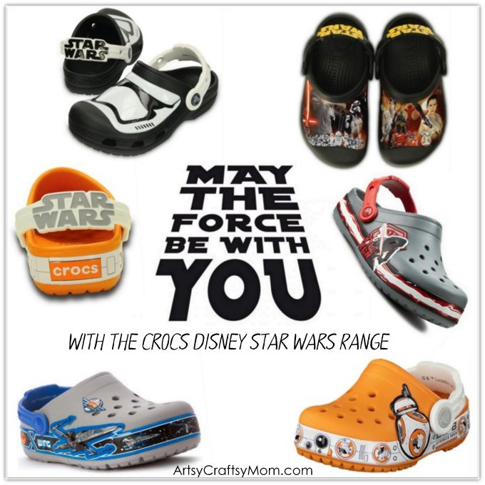 Get Inspired with Star Wars Quotes and the Crocs Disney Star Wars Collection that features Croslite Foam,Glow in the dark, LED lights, Metallic details & more