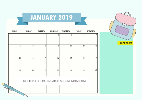 photograph relating to Printable Calendar for Kids called 10 Free of charge Printable Calendar Webpages for Young children