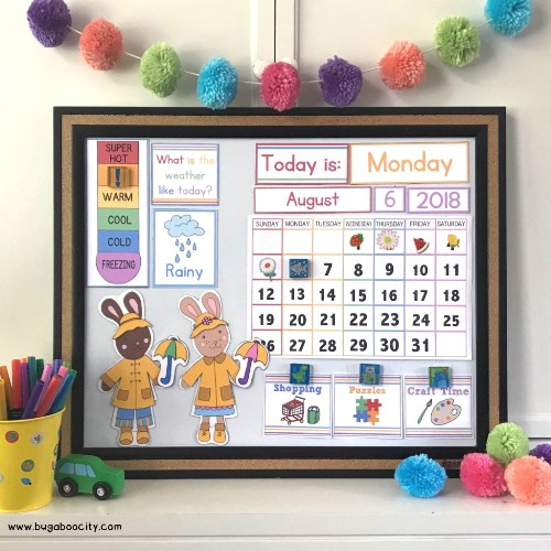Make 2019 your family's most organized year yet with these cute 10 Free Printable Calendar Pages for Kids! Disney princess, superheroes, unicorns and more!