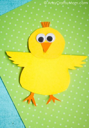 Rocking Chick Paper Craft with Video Tutorial