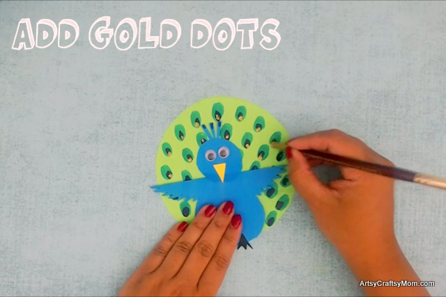 We may not be able to make it rain in the summer, but we sure can make a peacock dance! Check out this Rocking Peacock Paper Craft, complete with a video!