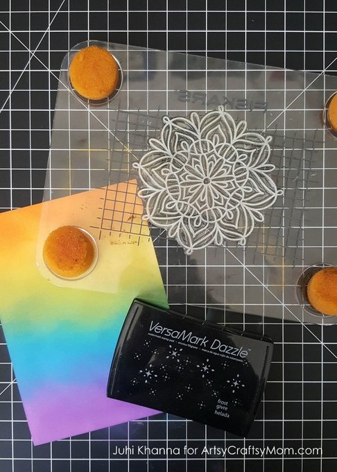 Recreate your Childhood Diwali Memories with these colorful Rangoli Inspired Diwali Cards that you can Make at Home!