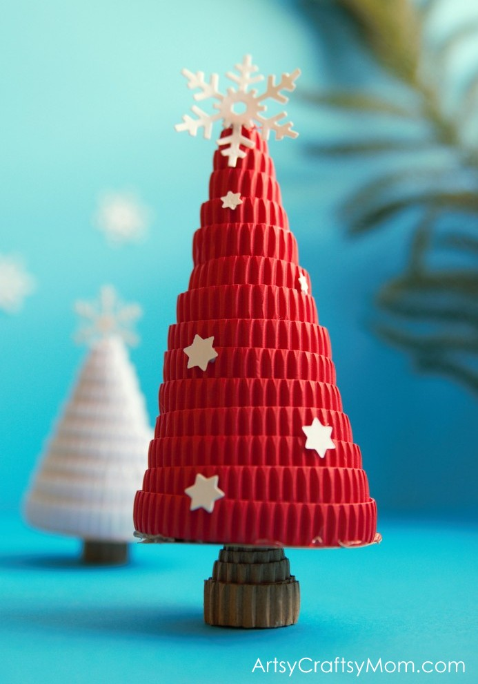 Try Something Different This Holiday Season With A DIY Corrugated Paper Christmas Tree Skip The