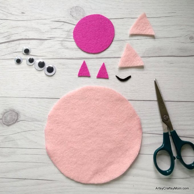 P For Pig Craft With Printable Template Artsy Craftsy Mom