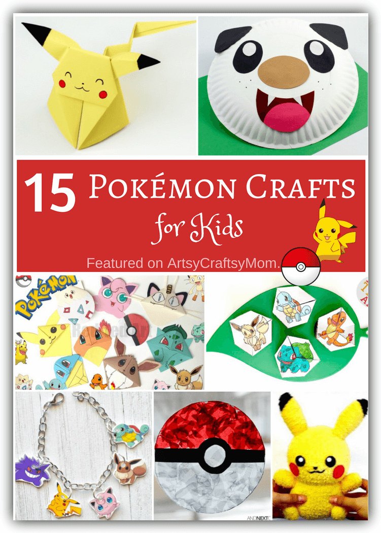 How to make an Origami Pikachu Bookmark - HandiCrafts idea Origami ... | 1051x751
