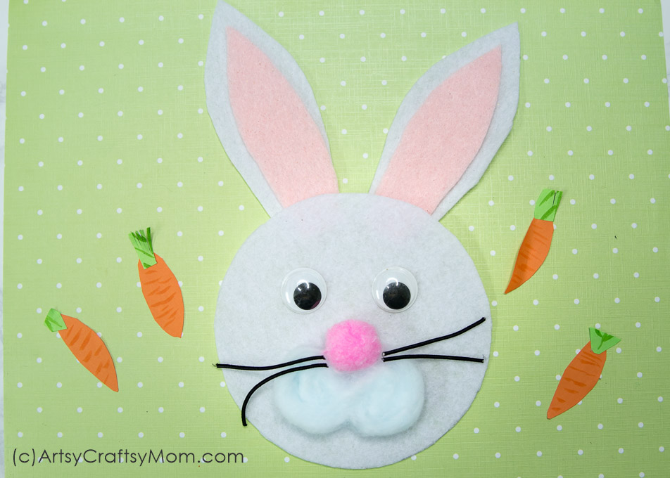 graphic about Letter From the Easter Bunny Printable named R for Rabbit Craft with Printable Template - Artsy Craftsy Mother