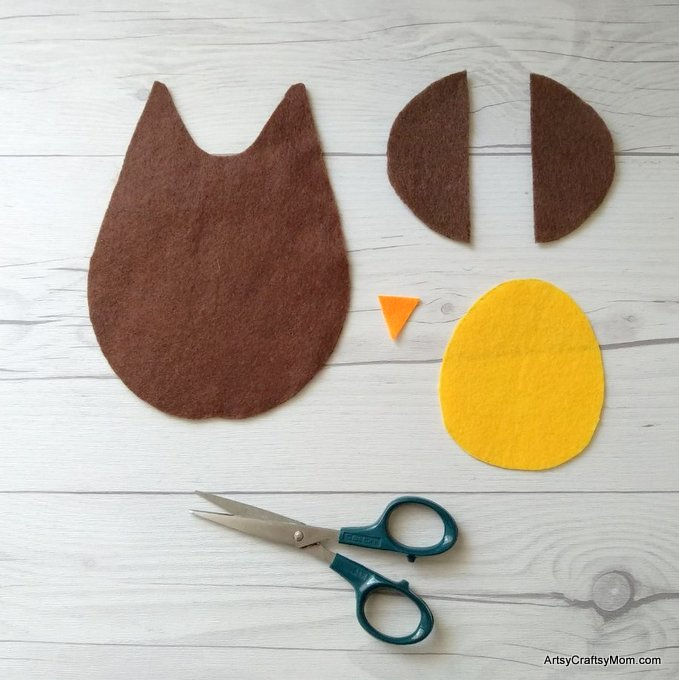Make this adorable O for Owl Craft using our Printable Template that's perfect for learning about nocturnal creatures, birds of prey or any other wildlife lesson.