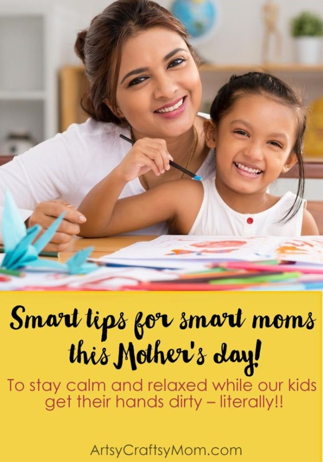 If you have kids, mess is part of your life! Check out our smart tips for smart Moms to stay on top of the mess, while boosting their kids' creativity!