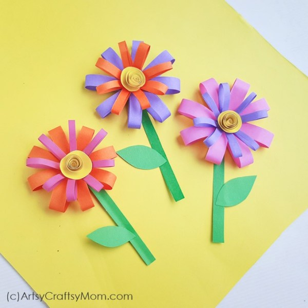 25 gorgeous paper flower crafts for kids that are perfect for summer summer paper flower craft mightylinksfo
