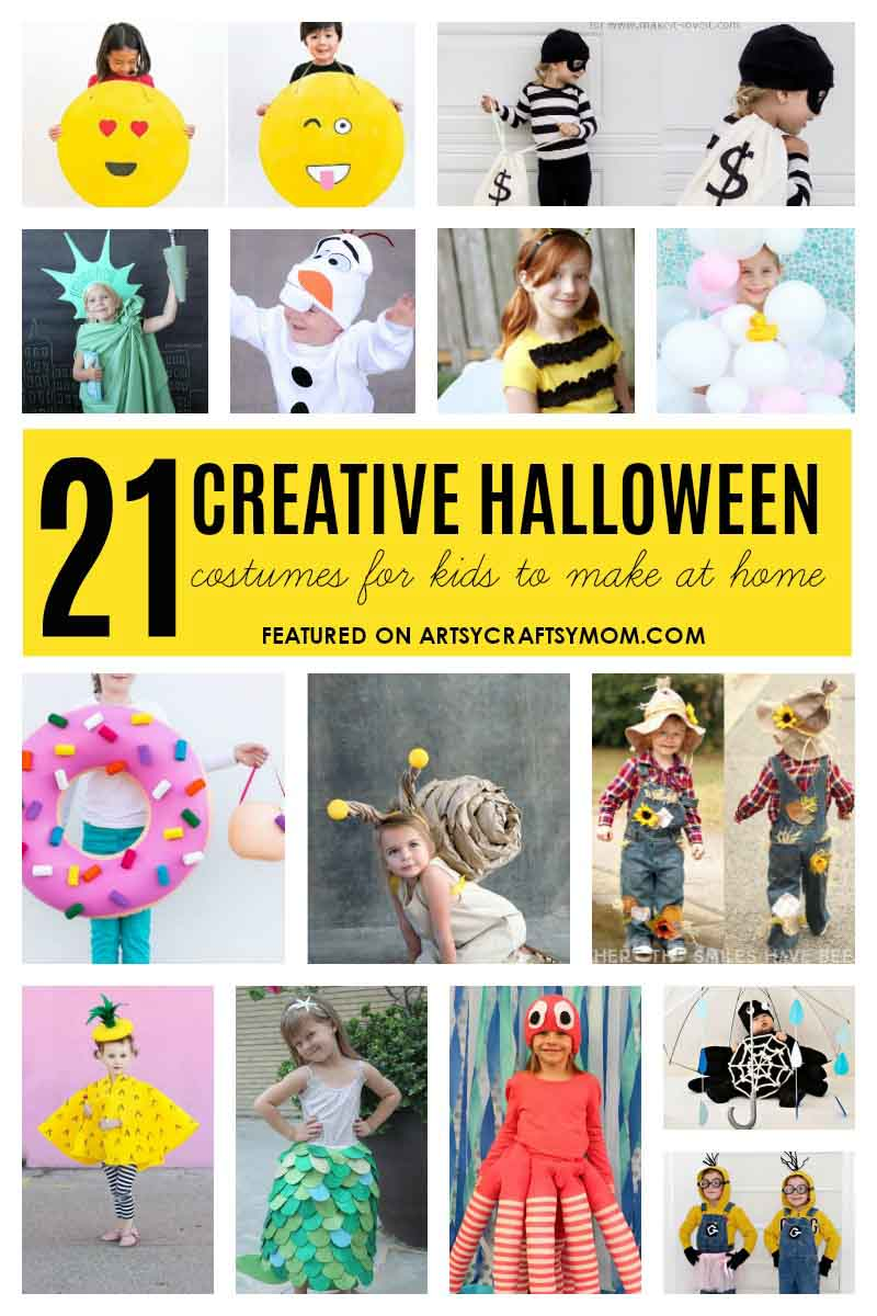 Creative Halloween Costumes For Kidsgirl.21 Creative And Easy Last Minute Halloween Costumes For Kids