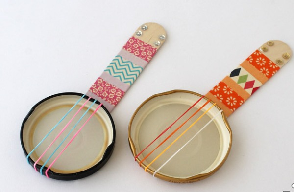 Bring the band alive at your home with these DIY Musical Instruments for Kids to Make