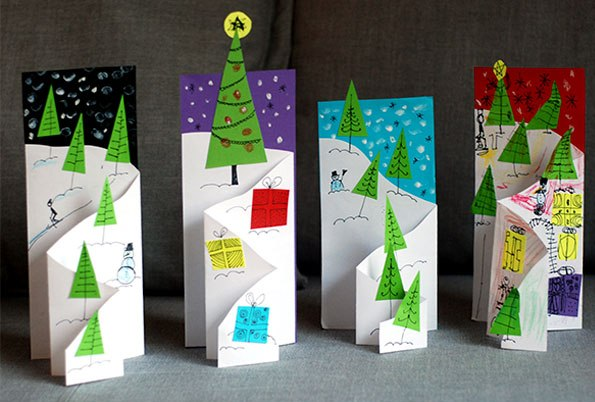 Spread love this holiday season with a handmade card, chosen from our list of simple and sweet DIY Christmas Card Ideas for Kids.