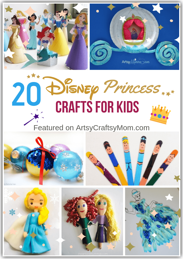 Craft Castle Disney Princess 4+