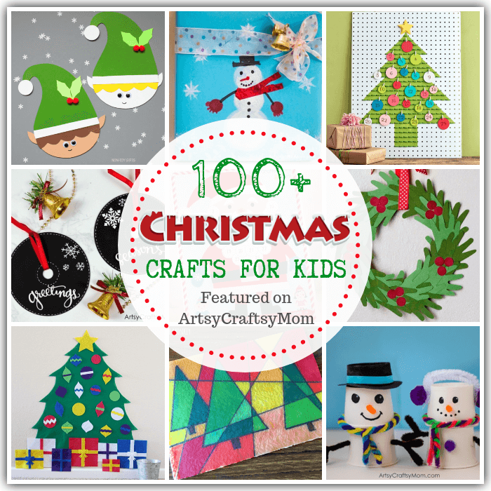With our Ultimate List of 100+ Christmas Crafts for Kids, you'll never run out of ideas again! Includes ornaments, calendars, trees, printables & much more!