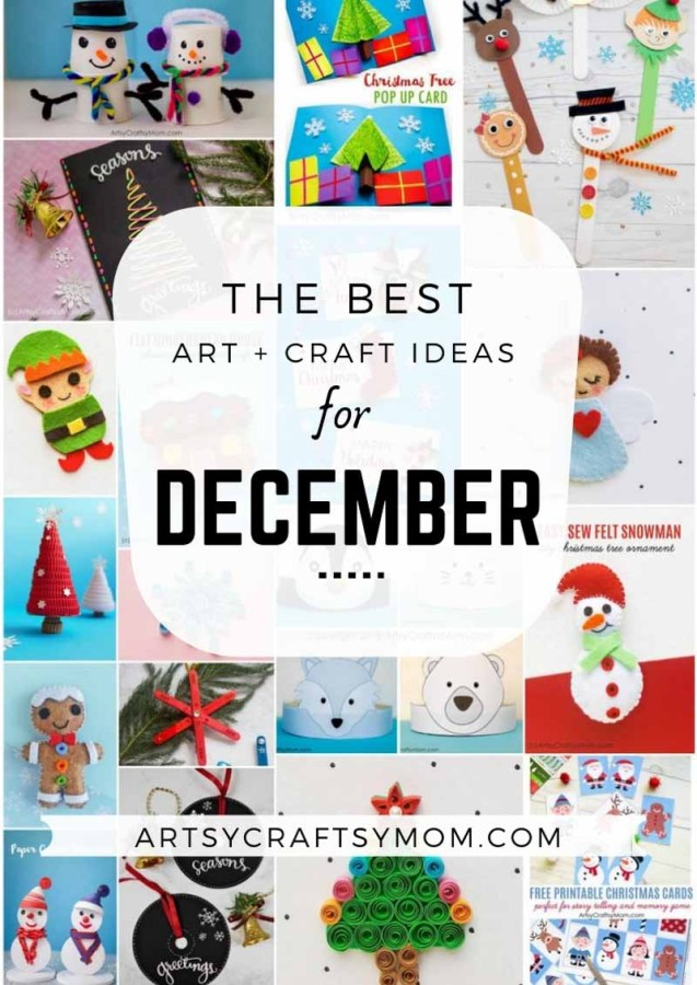 Art and Craft Activities for the month of December