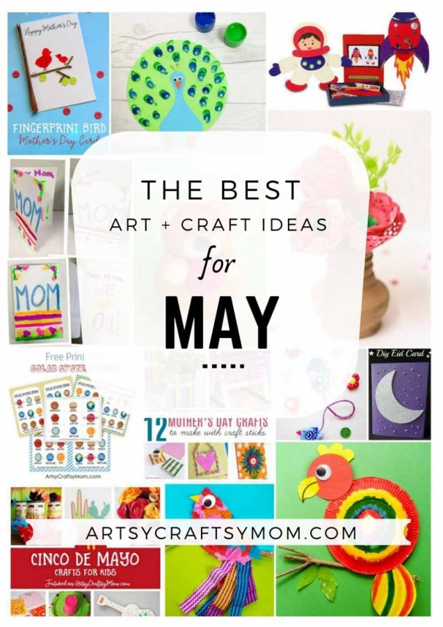 Art and Craft Activities for the month of May