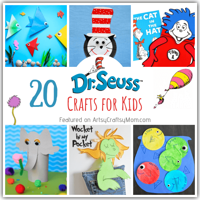 picture relating to Wocket in My Pocket Printable named 20 Straightforward and Enjoyable Dr Seuss Crafts for Small children