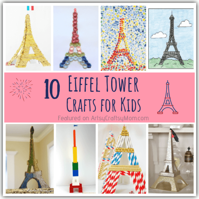 10 Enchanting Eiffel Tower Crafts for Kids