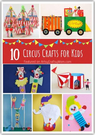 10 Circus Crafts and Activities for Kids