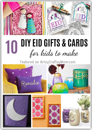 10 DIY Eid Gifts and Cards for Kids to Make