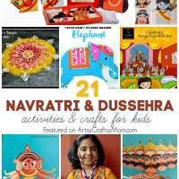 21 Navratri Dussehra Activities & Crafts for kids