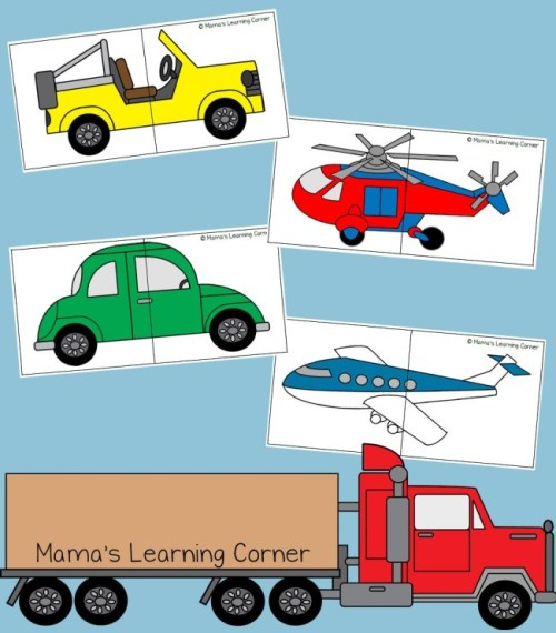 These fun and easy Transportation Crafts for Kids are perfect for little kids to learn about how cars, trains, planes and even hot air balloons work!