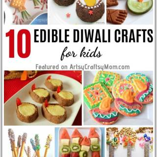 This Diwali, make your food look as pretty as your clothes and your home! Try out these cute & easy edible crafts for Diwali that'll be a hit with the kids!