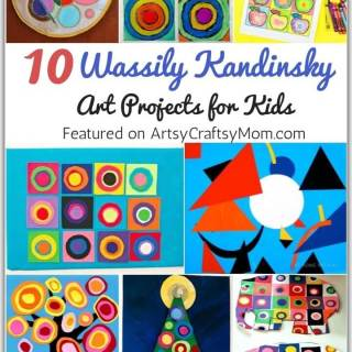 Kandinsky was an artist who combined colors, melodies and philosophy. Get inspired from this great artist with some Wassily Kandinsky art projects for kids.
