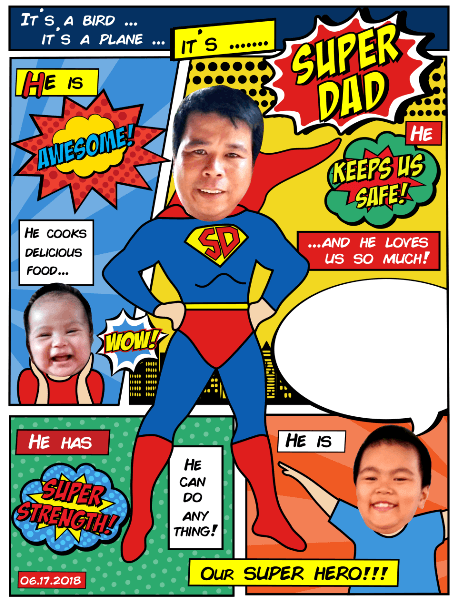 Let Dad know that he's the superhero in the family, with these awesome superhero Dad crafts! From gifts to cards, there's something for every age to make!