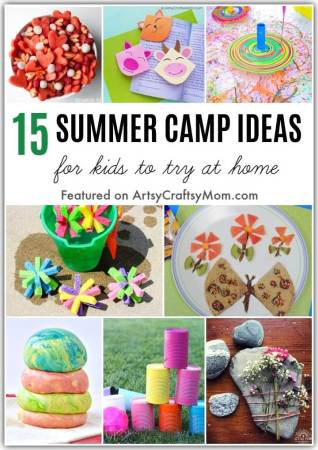 Summer camps may be cancelled but fun isn't! Have your own DIY staycation this summer with these easy ideas to plan an awesome summer camp at home for kids.