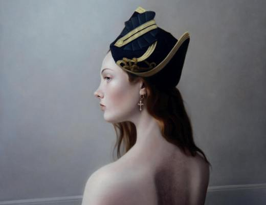 Girl in a Cocked Hat II by Mary Jane Ansell