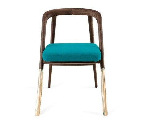 Alma Brass Chair from Organic Modernism