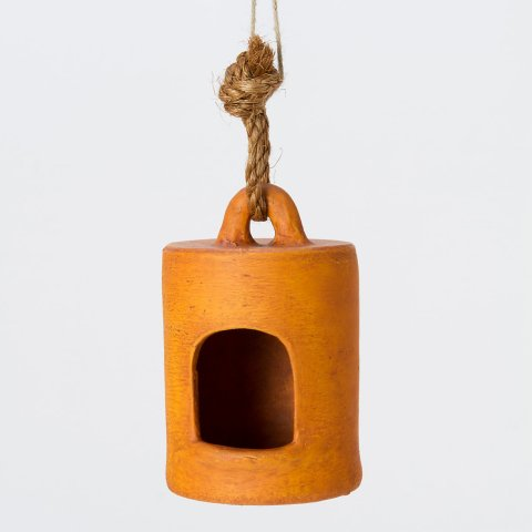 Ceramic Cylinder Birdhouse at Terrain