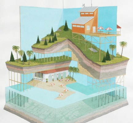 Vertically Integrated Model for Multi-Climate Living by Joseph Phillips